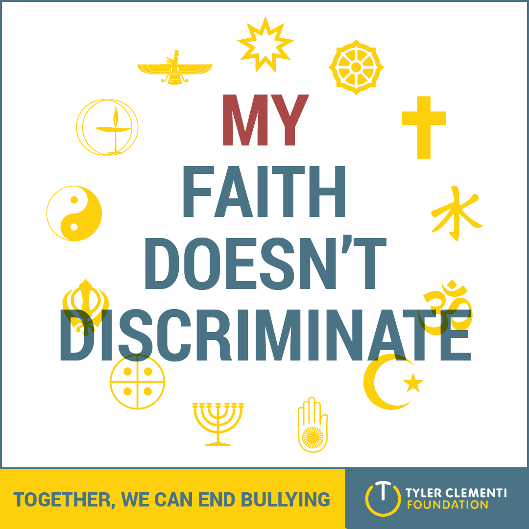 My Faith Doesn't Discriminate