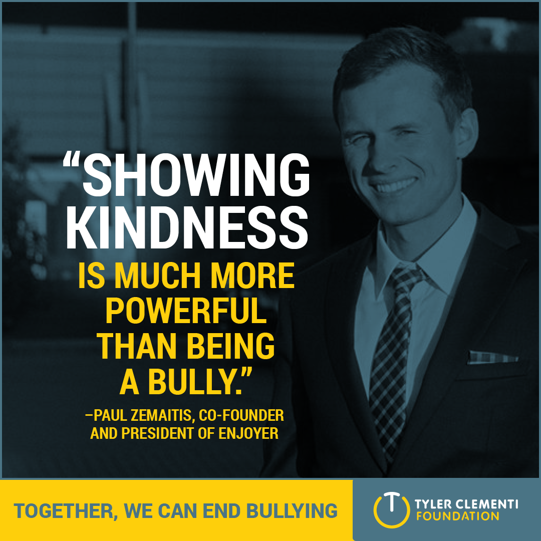 Showing kindness is much more powerful than being a bully.