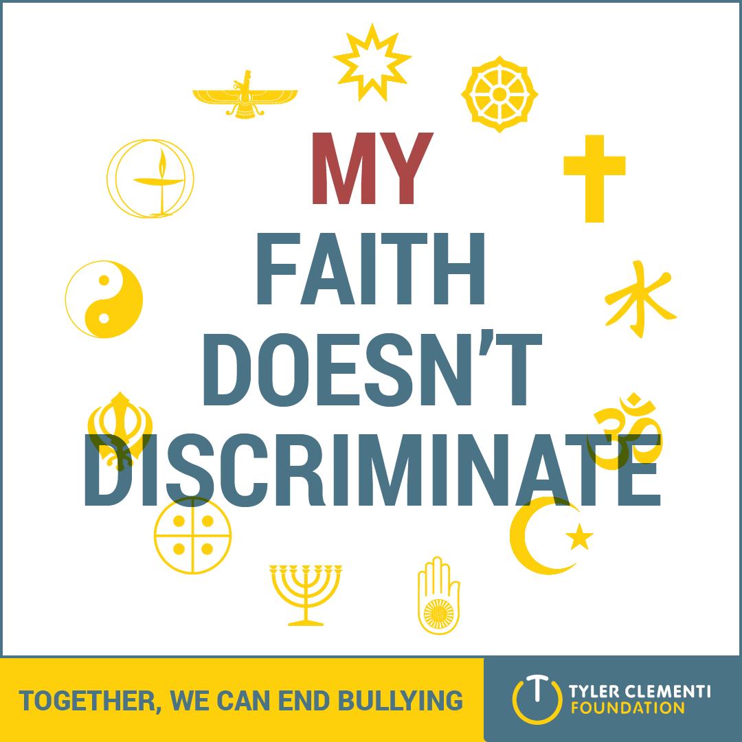 My Faith Doesn't Discriminate