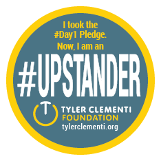 #Day1 Upstander Badge