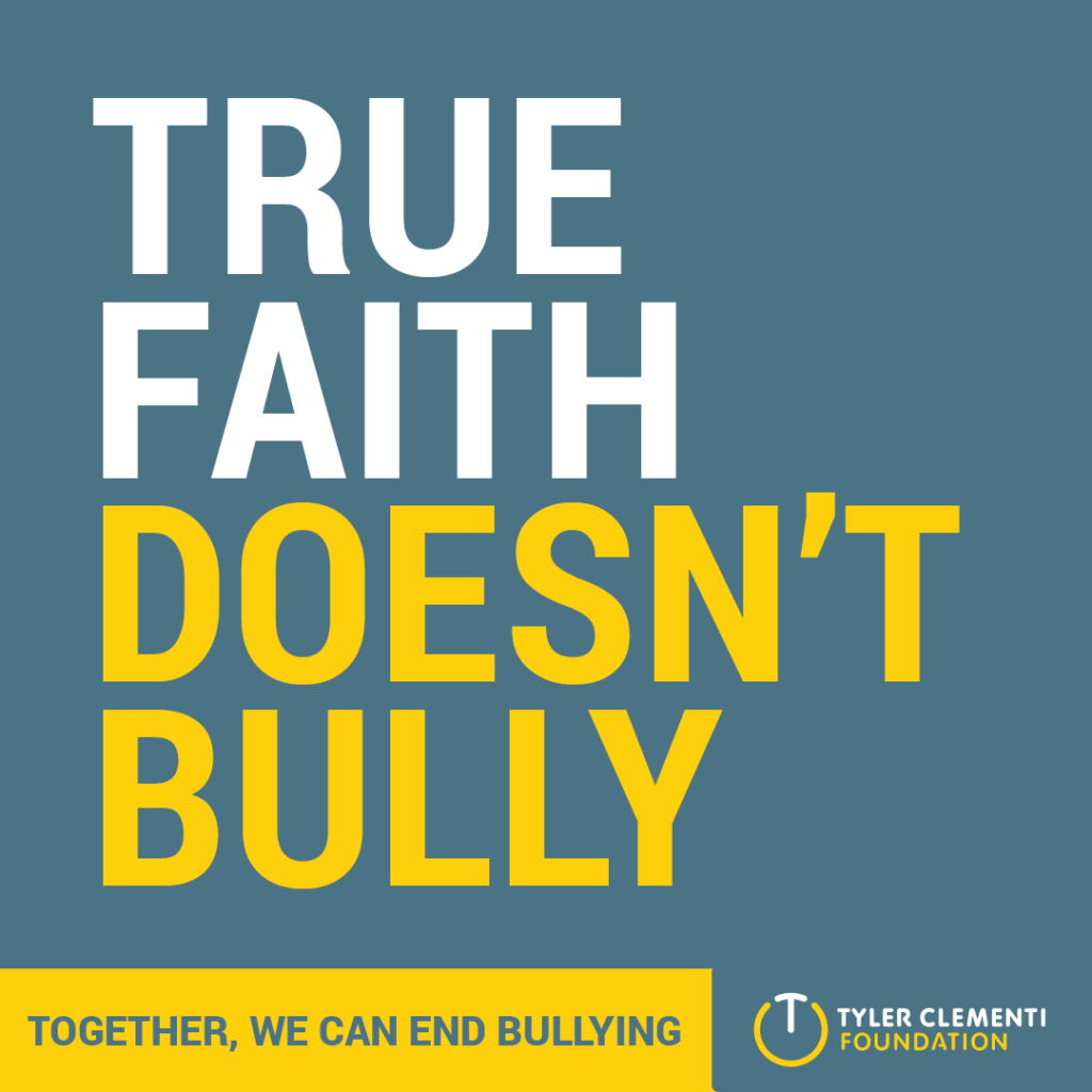 True Faith Doesn't Bully